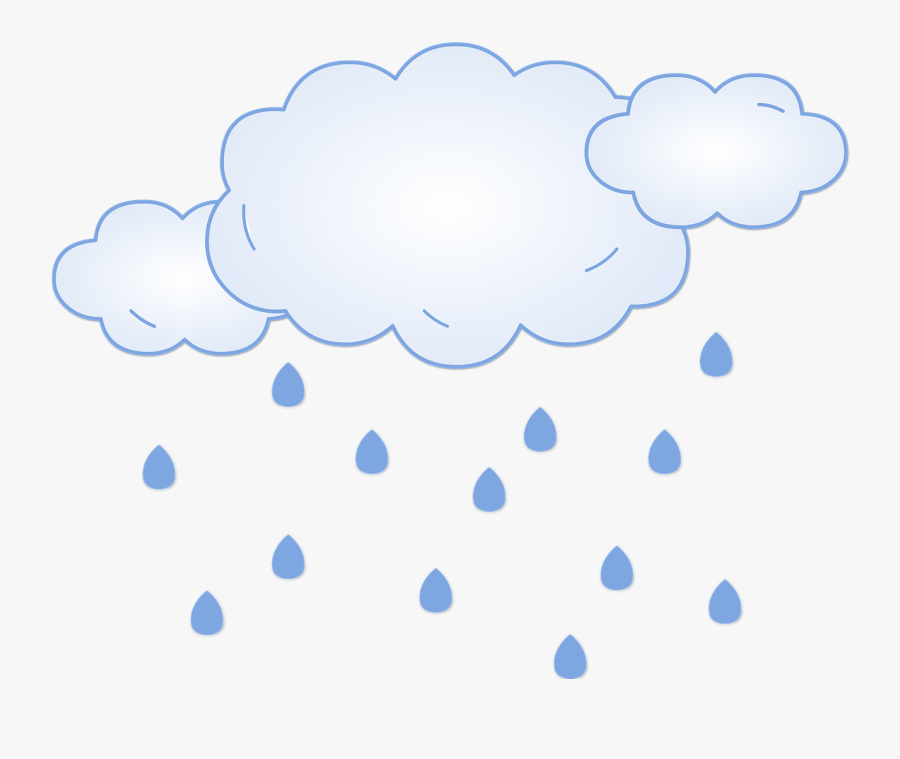 เมฆ ฝน ตก, Transparent Clipart