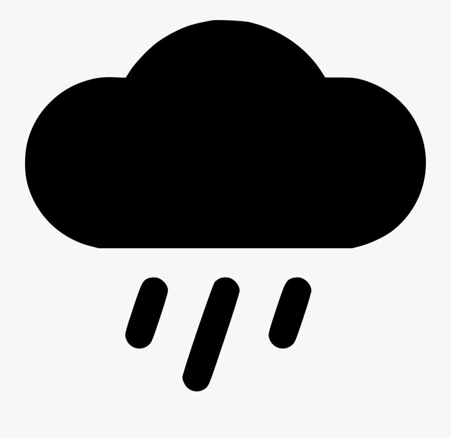 Cloud Rain - Black Rain Cloud Clipart Png, Transparent Clipart