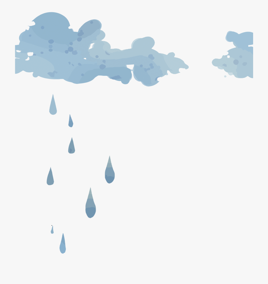 Cloud Icon Clouds Transprent Png Free - Clouds With Rain Png, Transparent Clipart