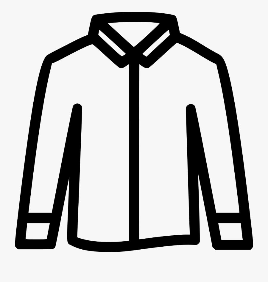Transparent Long Sleeve Shirt Png - Long Sleeve Shirt Icon, Transparent Clipart