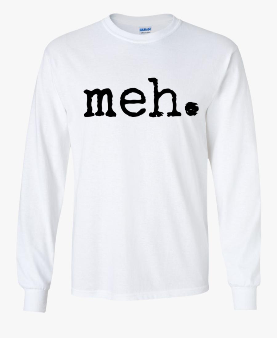 Ls Ultra Cotton Tshirt - Long-sleeved T-shirt, Transparent Clipart