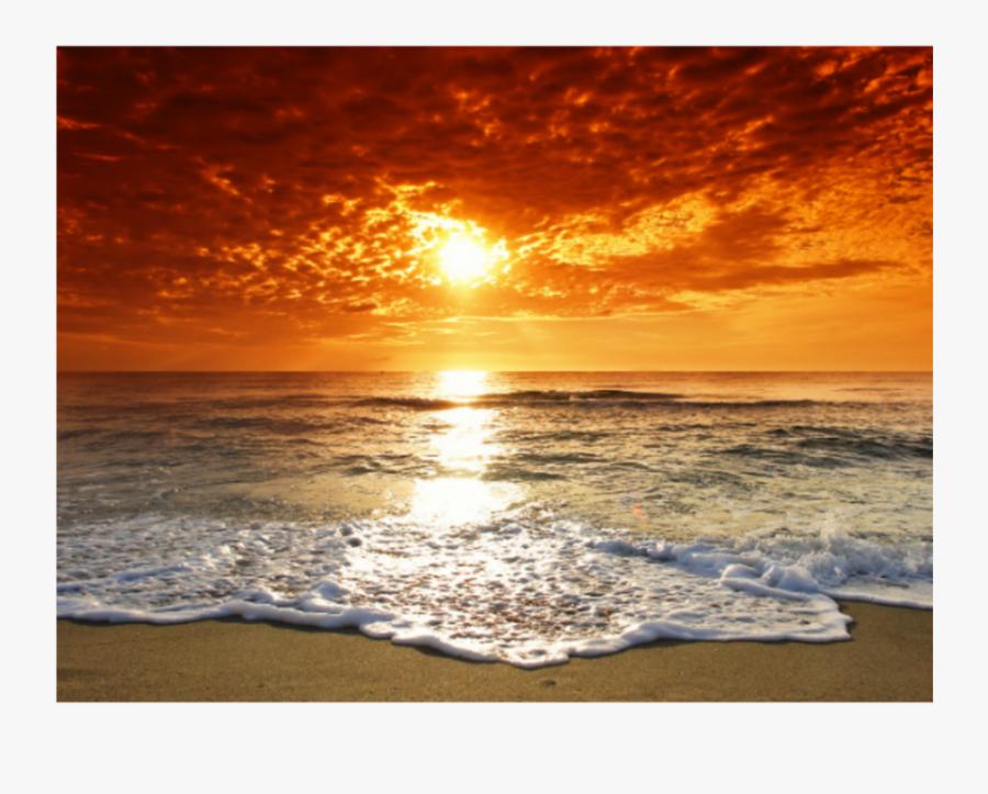 #freetoedit #sunrise #sunset #beach Scene - Sunny Beach Bulgaria Sunset, Transparent Clipart