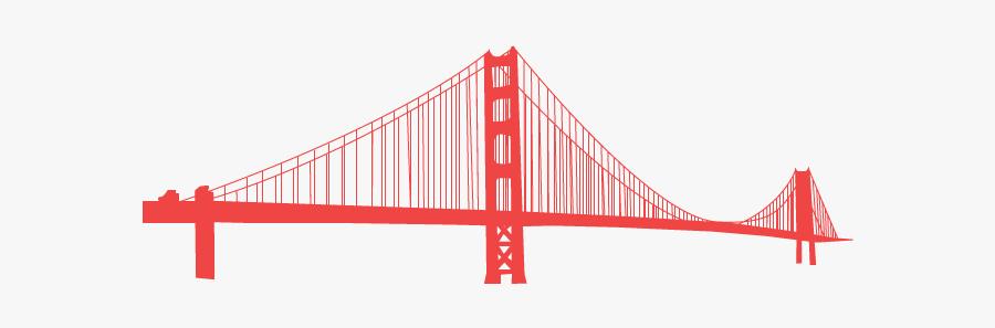 Suspension Bridge, Transparent Clipart