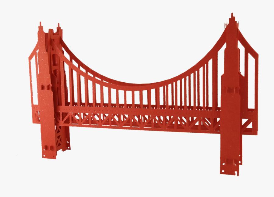Transparent Free Golden Gate Bridge Clipart - Golden Gate Bridge, Transparent Clipart