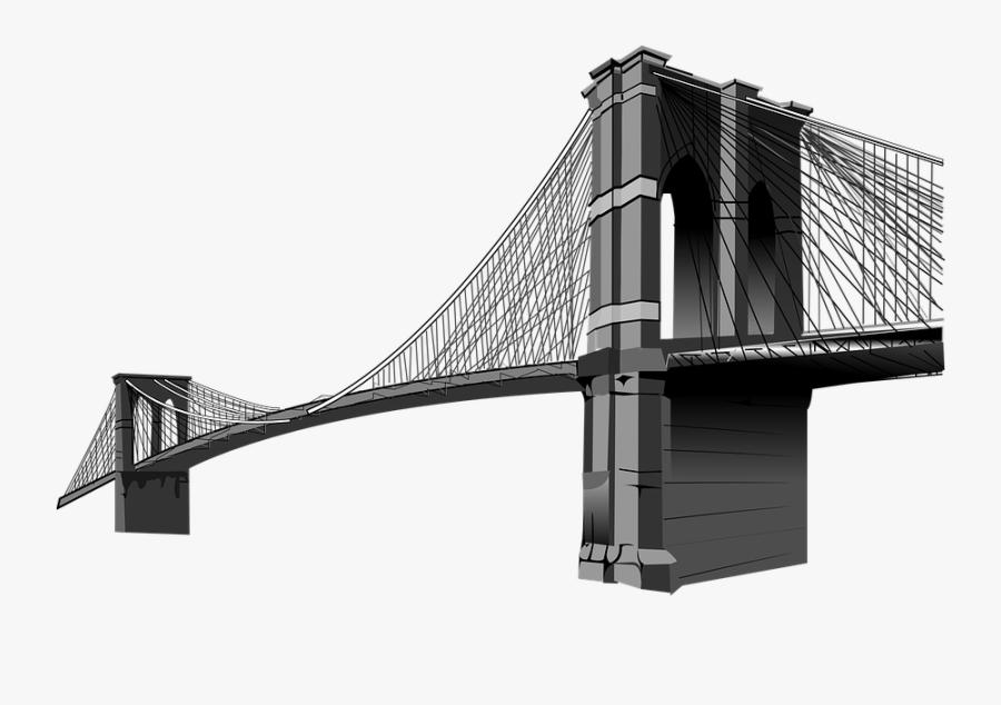 Brooklyn Bridge Png, Transparent Clipart