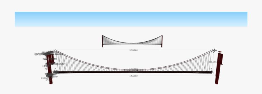 Golden Gate Bridge Assembly - Suspension Bridge, Transparent Clipart