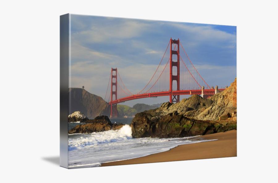 Clip Art By Inge Johnsson - Golden Gate Bridge, Transparent Clipart
