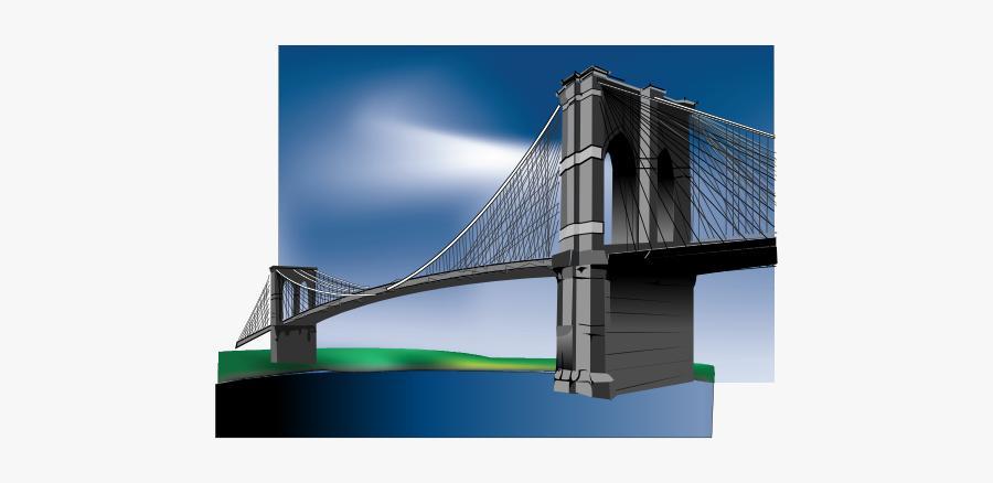 Brooklyn Bridge Clip Art - Brooklyn Bridge, Transparent Clipart