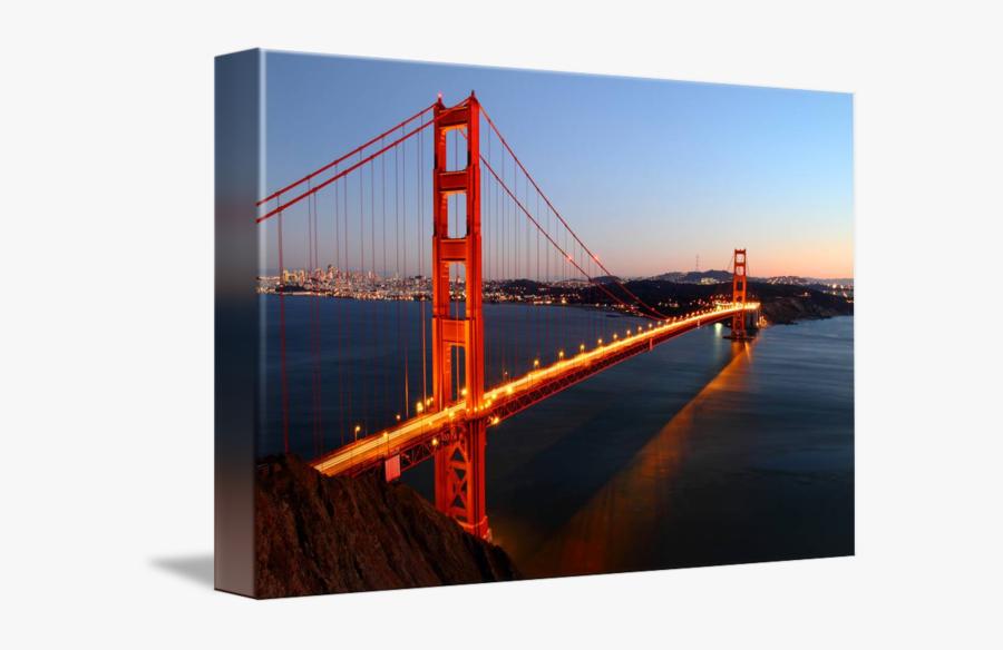 Transparent Golden Gate Bridge Png - Golden Gate Bridge Canva, Transparent Clipart