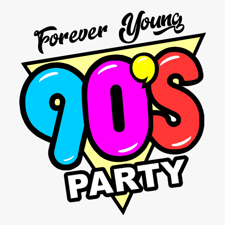 Home - 90's Forever Young Party, Transparent Clipart