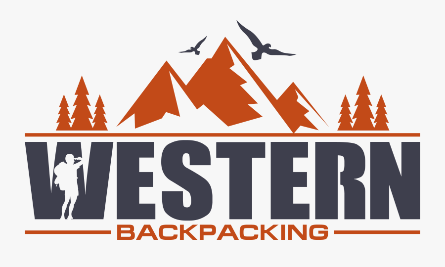 Western Backpacking - Graphic Design, Transparent Clipart
