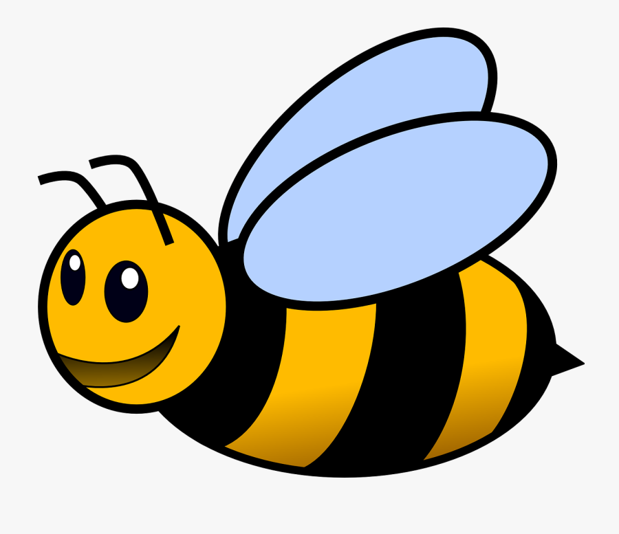 Bumblebee Honeybees Beehive Free Picture - Colour Of Honey Bee, Transparent Clipart