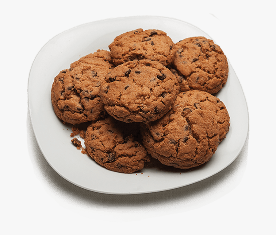 Chocolate Chip Cookie Number One Png - Chocolate Chip Cookie, Transparent Clipart