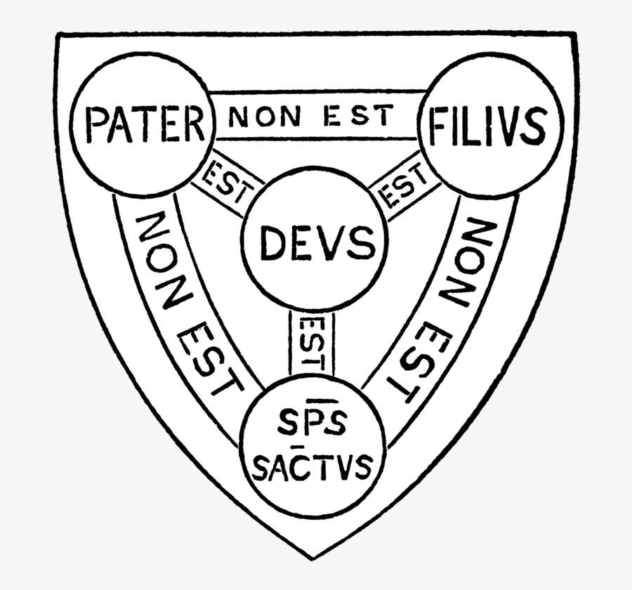 Shield Of The Holy Trinity, Transparent Clipart