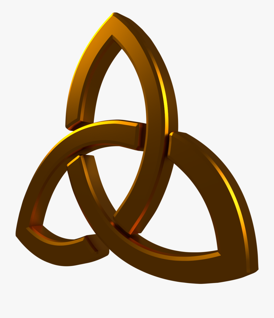 Holy Trinity Symbol Png, Transparent Clipart