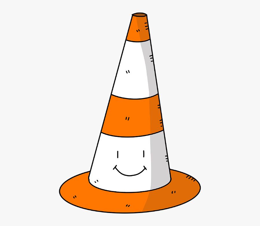 Cone, Orange, Traffic, Building, Construction, Road, Transparent Clipart