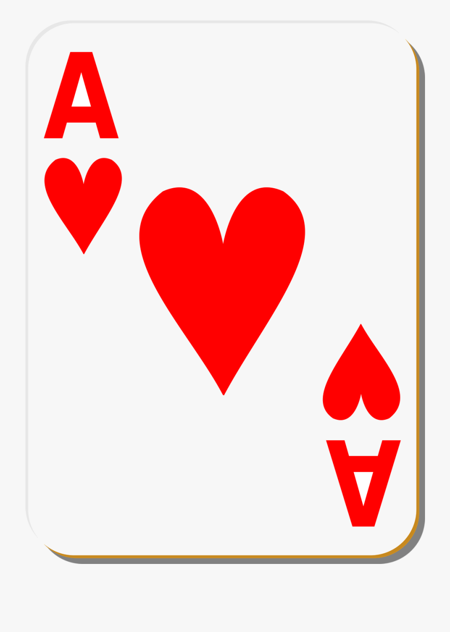 Playing Cards Images Clipart Transparent Png - Playing Cards Clipart Hearts, Transparent Clipart