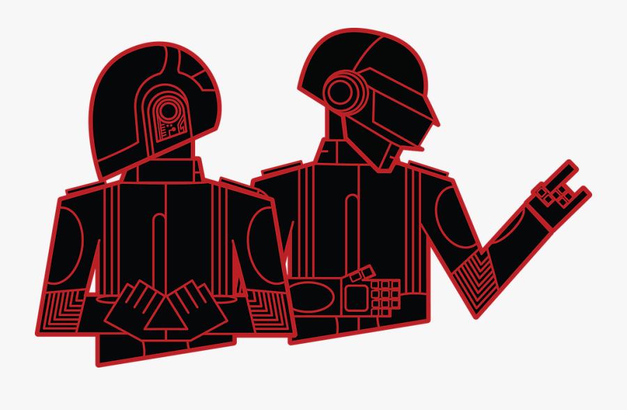 2018 Nubo Graphic Design - Imagenes Daft Punk Png, Transparent Clipart