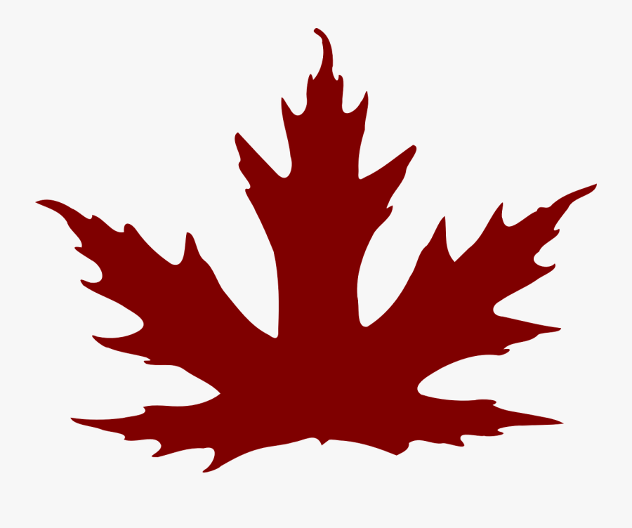 Maple Leaf Clipart Brown - Purple Maple Leaf Clipart, Transparent Clipart