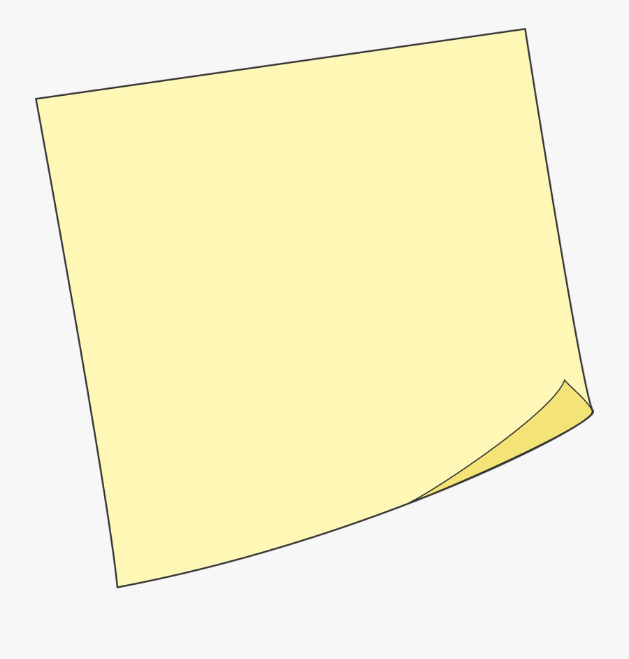 Post It Post-it Sticky Note Free Picture - Png Sticky Note Note Blank, Transparent Clipart
