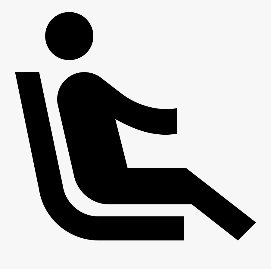 No Steering Wheel Driver Icon Recline Png Free