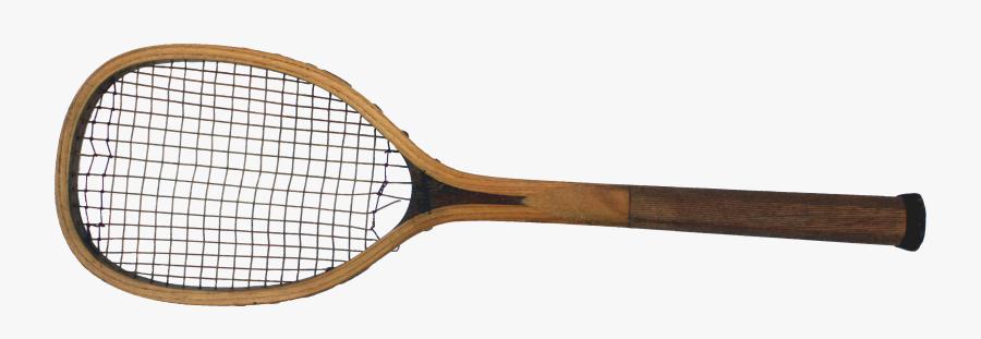 Old Tennis Racquet Png, Transparent Clipart