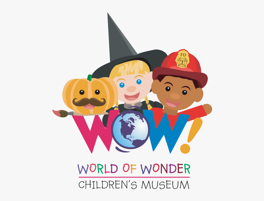 Halloween Wow Logo - Cartoon Childrens Halloween Party, Transparent Clipart