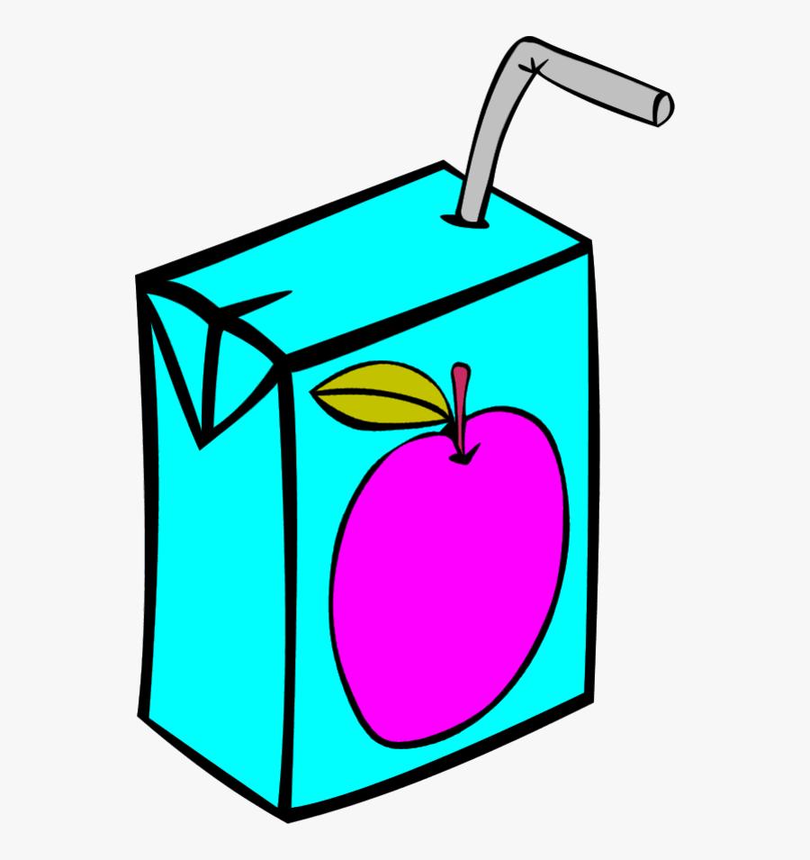 Vector Clip Art - Juice Box Clipart, Transparent Clipart