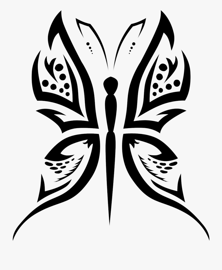 Black And Art,butterfly,monochrome Photography,plant,moths - Png Tattoo Designs, Transparent Clipart