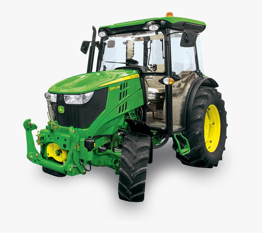 5090gn Tractor - Tractor - John Deere 5090 Gn, Transparent Clipart