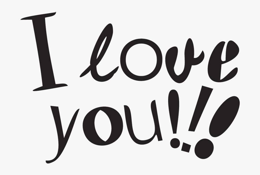 I Love You Transparent Background - Love Kiss Good Morning, Transparent Clipart