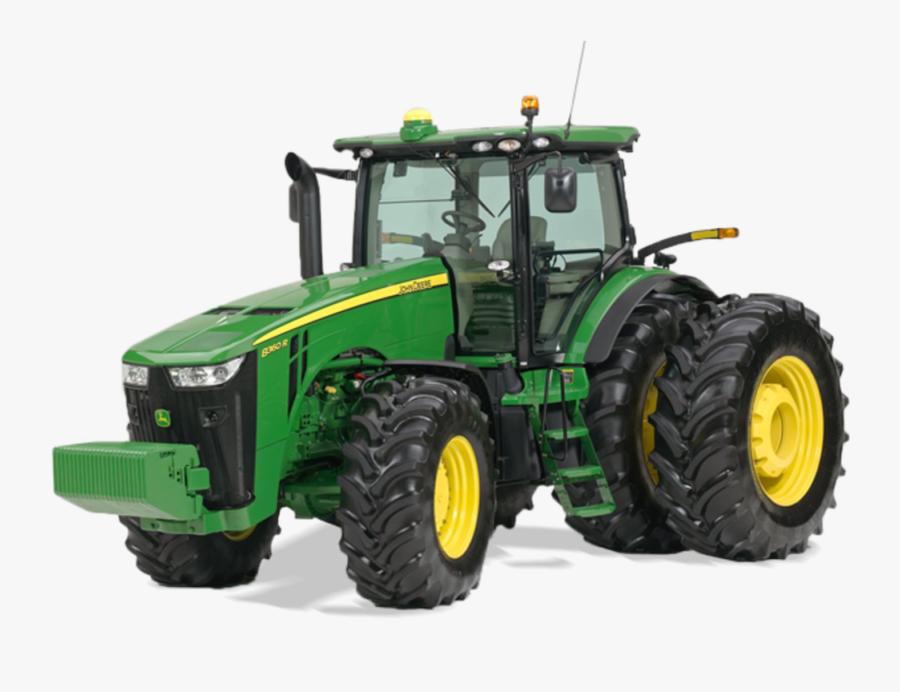 Clip Art Broken Tractor - Tractor John Deere Serie 8000, Transparent Clipart