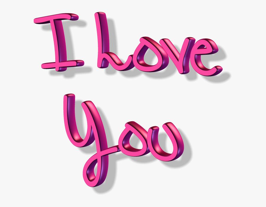 Download I Love You Transparent Png - L Love You Png, Transparent Clipart