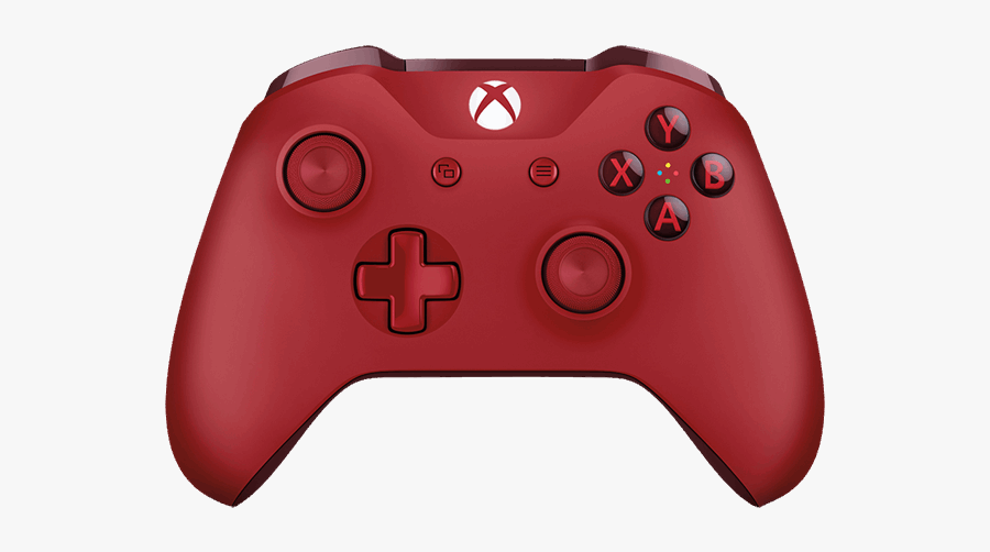 Xbox Controller Png - Xbox One S Controller Red, Transparent Clipart