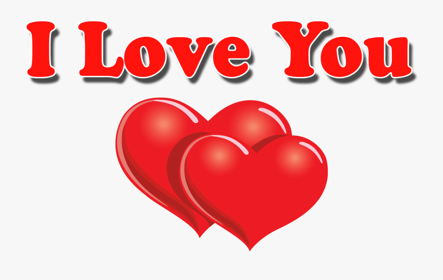 Love You Png, Transparent Clipart