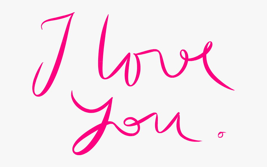 28155 - Love You In Png, Transparent Clipart