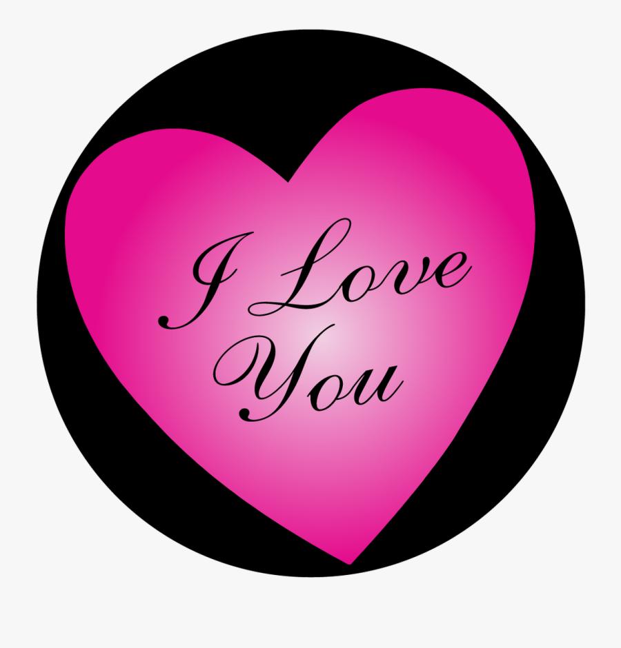 Apollo I Love You - Heart, Transparent Clipart