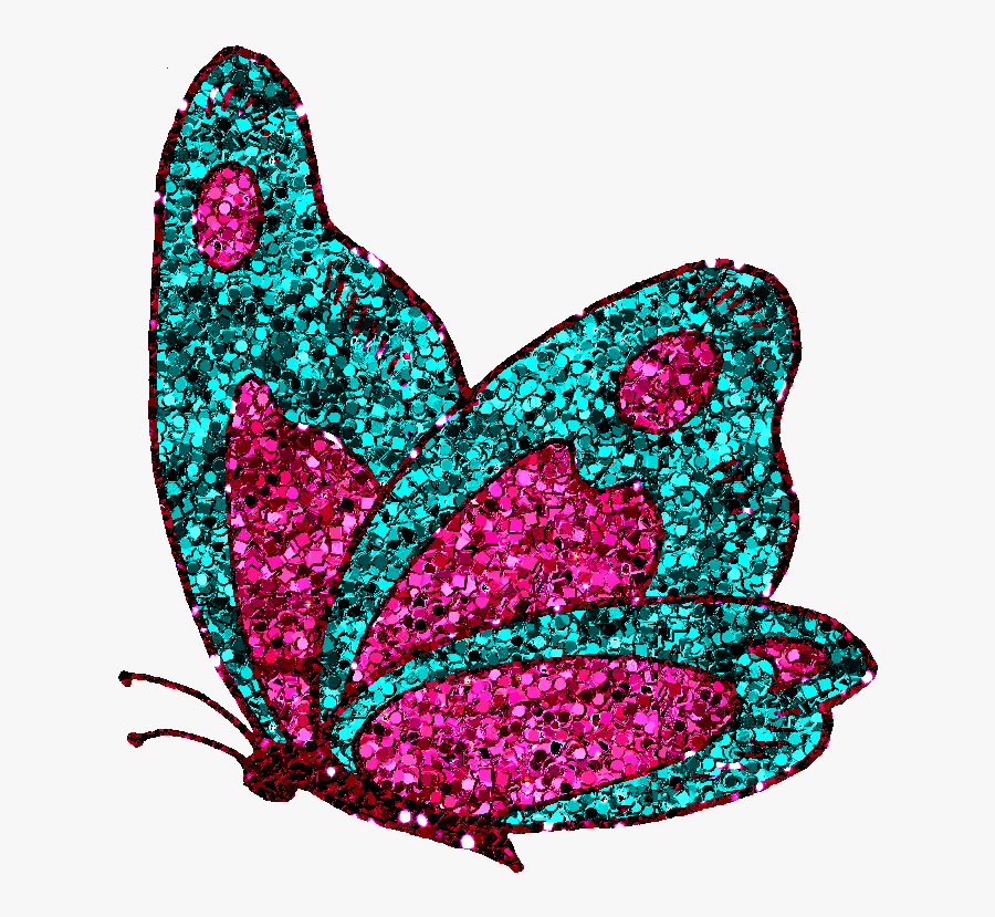 Collection Of Free Butterflies Download On Ubisafe - Butterflies Glitter, Transparent Clipart