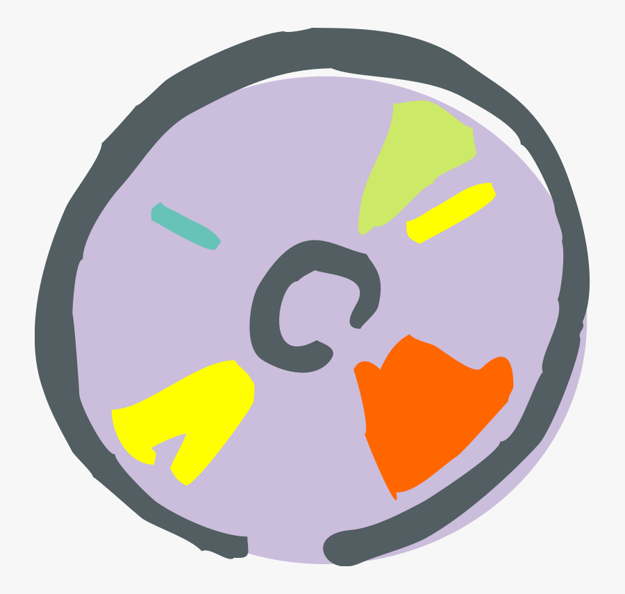 Free Vector Compact Disk - Compact Disc, Transparent Clipart