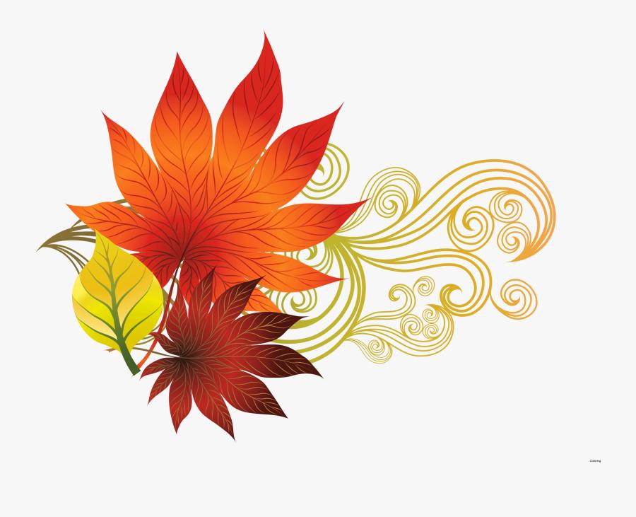 Most Interesting Leaf Oak - Free Clip Art Fall, Transparent Clipart