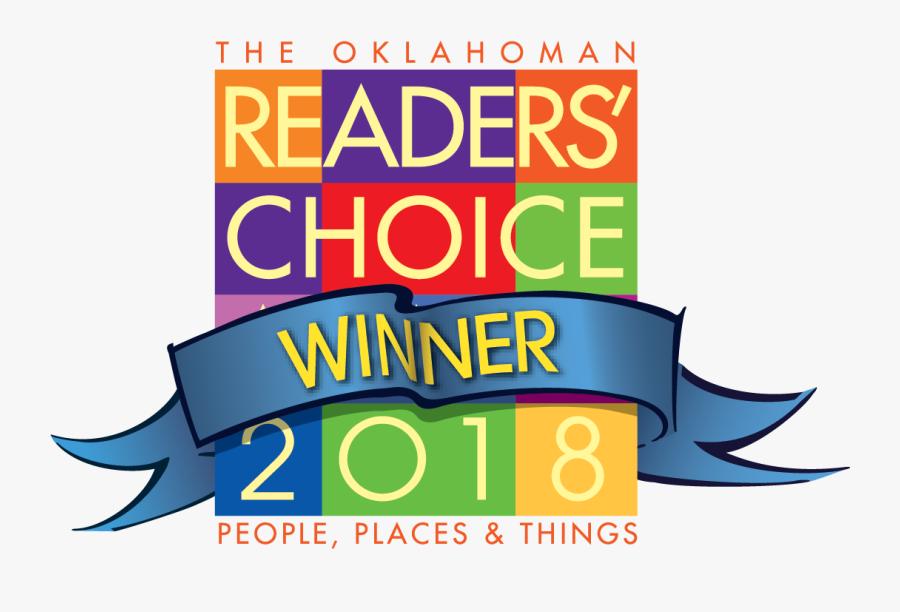 4c Vect Readers Choice Winners 2016 -01 - Oklahoman Readers Choice 2018, Transparent Clipart