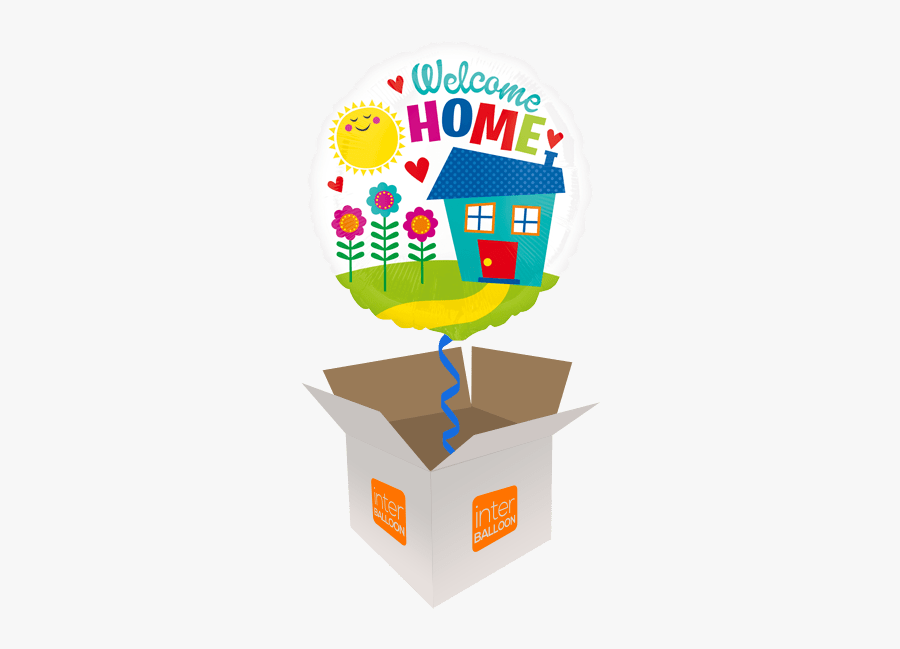 Welcome Home Sunshine House - Welcome Home Foil Balloon, Transparent Clipart