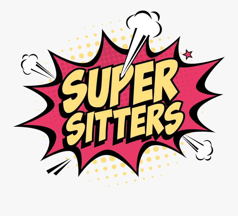 Super Sitters Logo - Illustration, Transparent Clipart