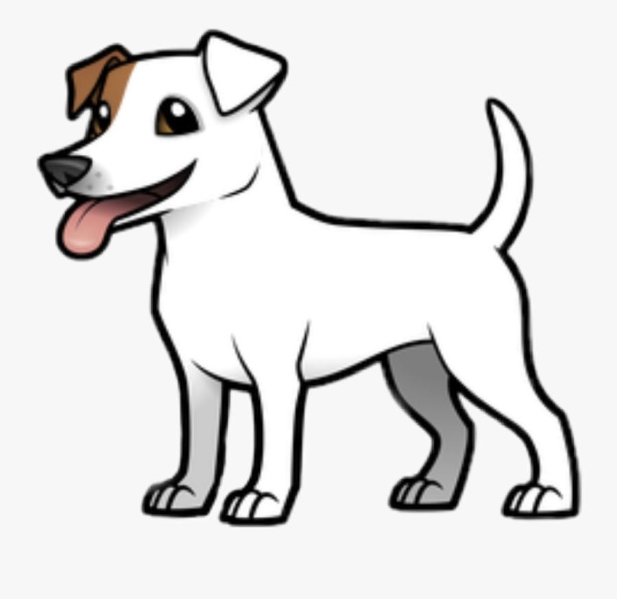 #dog #cutedog #comicdog #pet #hund #süßerhund #comichund - Dibujo De Border Collie, Transparent Clipart