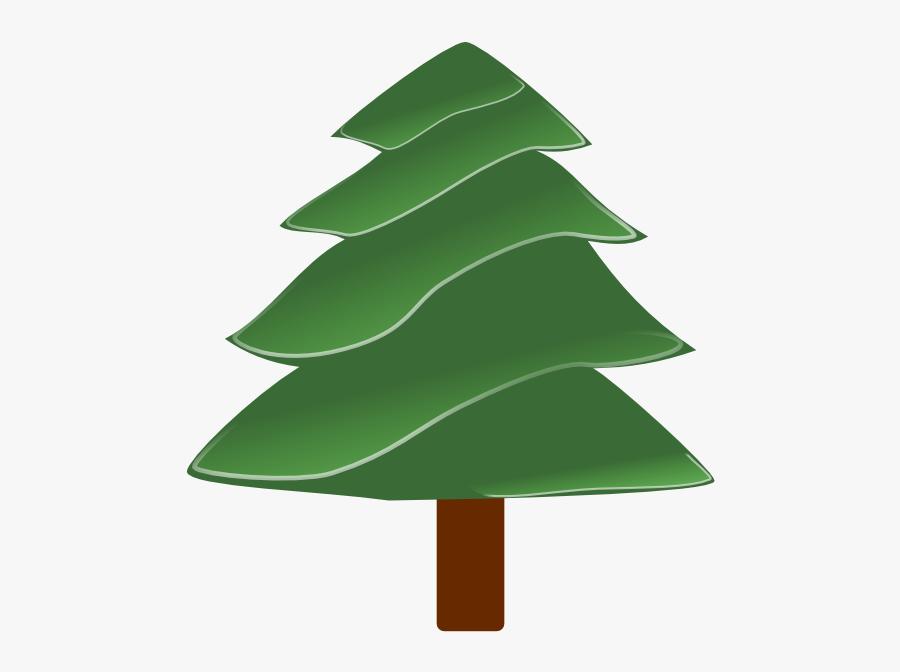 Clip Art Christmas Tree Green, Transparent Clipart