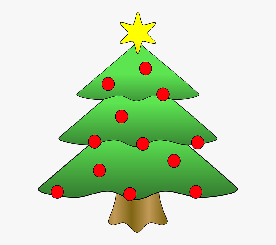 Christmas Tree,christmas Decoration,oregon Pine,colorado - Christmas Tree Clipart, Transparent Clipart