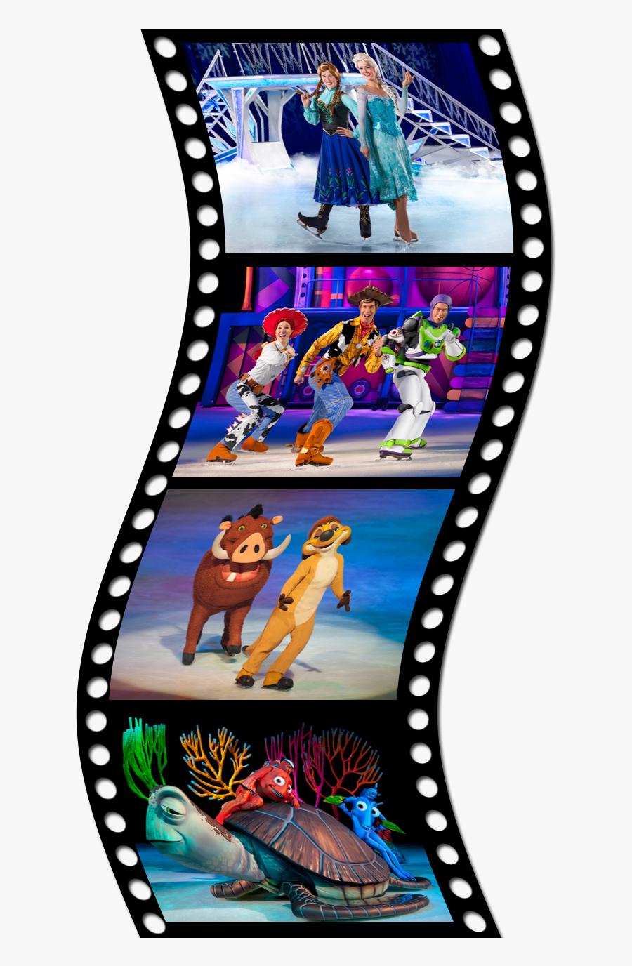 Transparent Roll Clipart - Color Movie Reel Png, Transparent Clipart