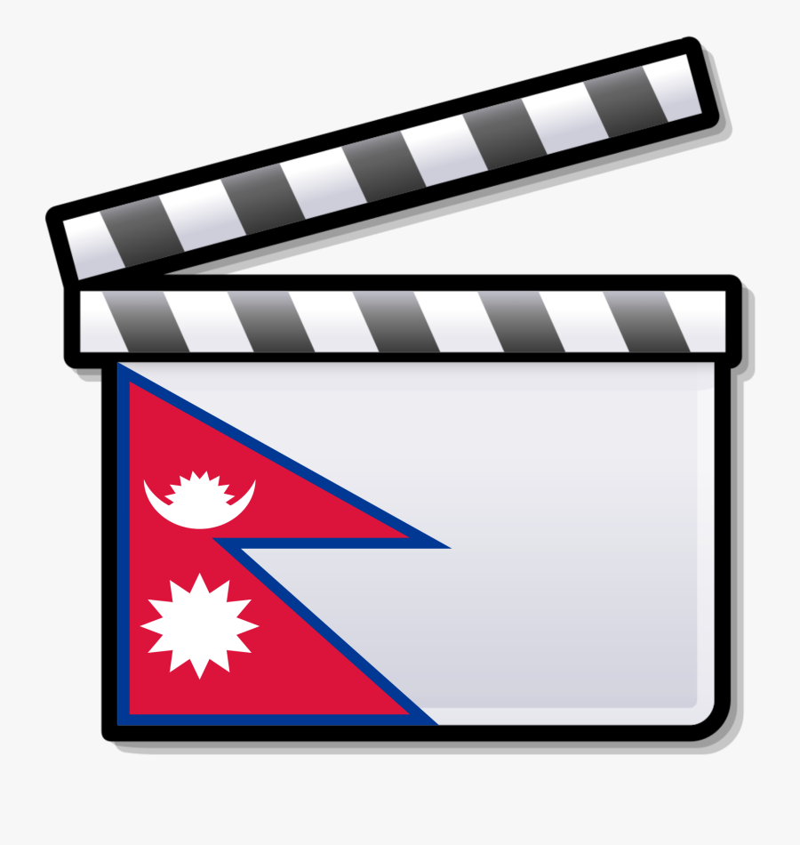 Cinema Of Nepal - Clapperboard Png, Transparent Clipart