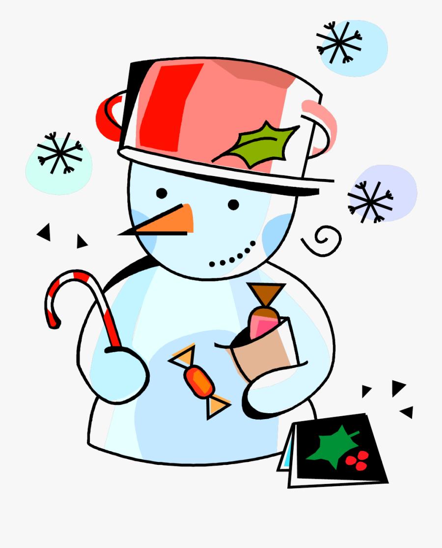 Transparent Greeting Clipart - Christmas Day Cartoon, Transparent Clipart