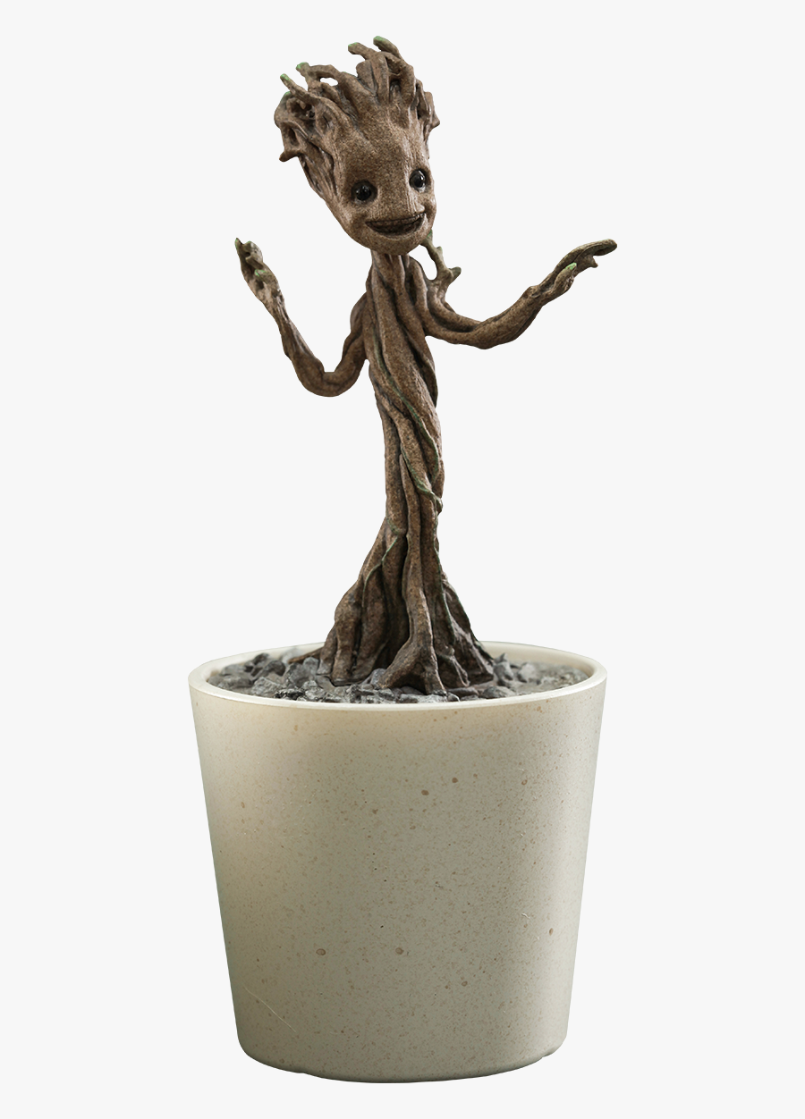 Baby Groot Png Photos - Little Groot Hot Toys, Transparent Clipart